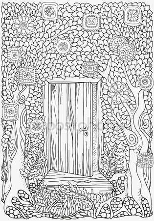 Downloaden - Zwart-wit abstracte fantasie foto. Vectorillustratie — Stockillustratie #103796470