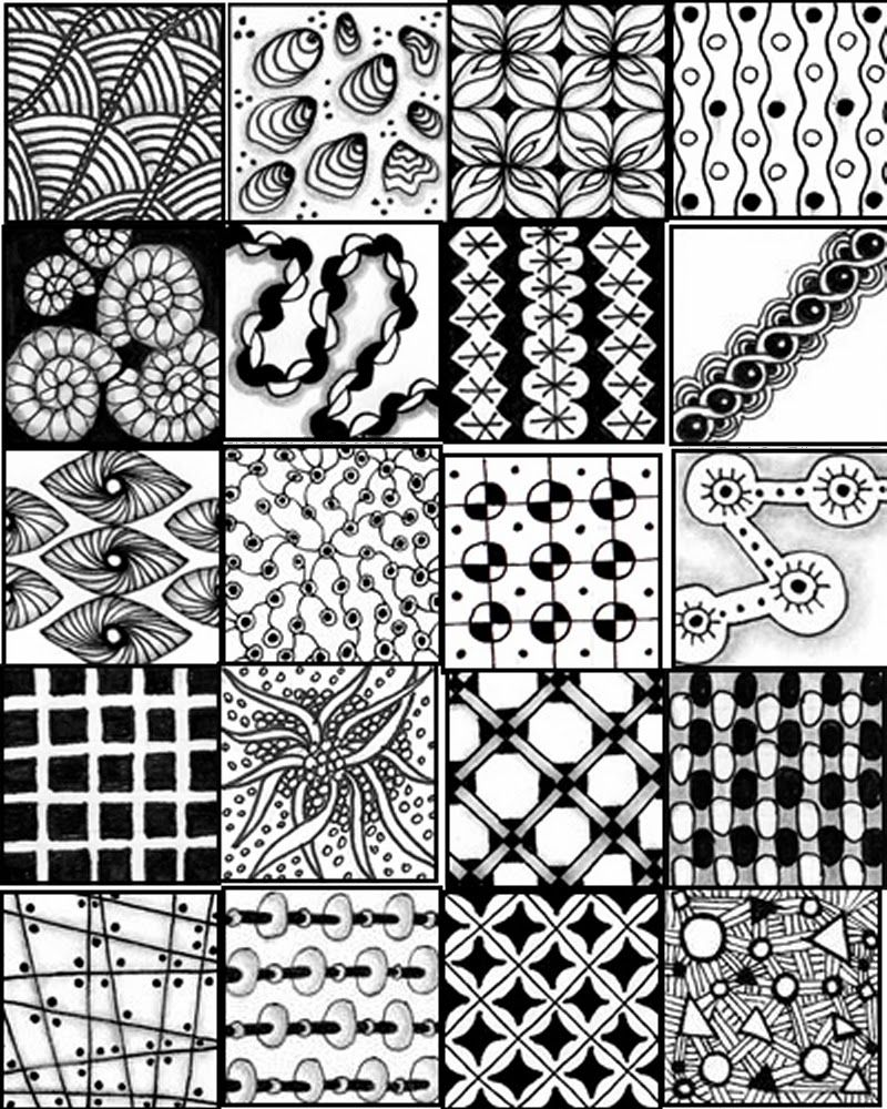 printable sheets to serve as a quick reference for zentangle  - printable sheets to serve as a quick reference for zentangle patterns