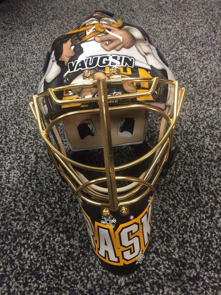 dc31e897d Tuukka s Winter Classic mask 2015