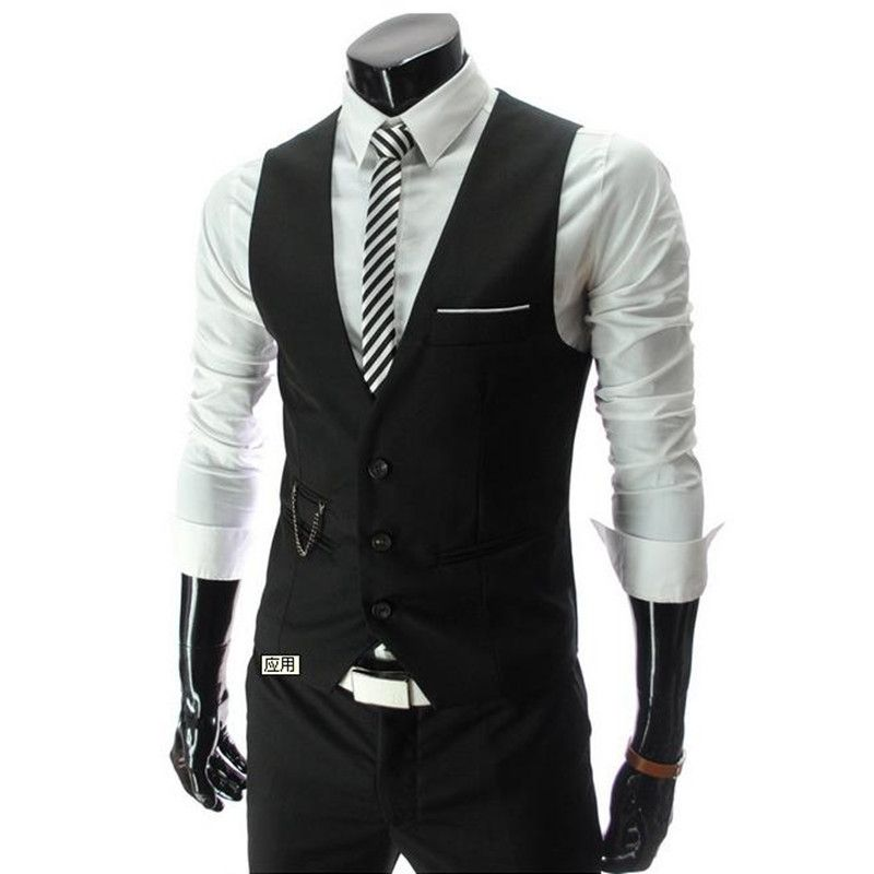 2016 New Lowest Price Men's Vests Hot Sale / Men's suits vest ...