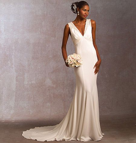 Pin By Sharon Killian On Prom Wedding Dress Sewing Patterns Sewing Wedding Dress Ladies Gown