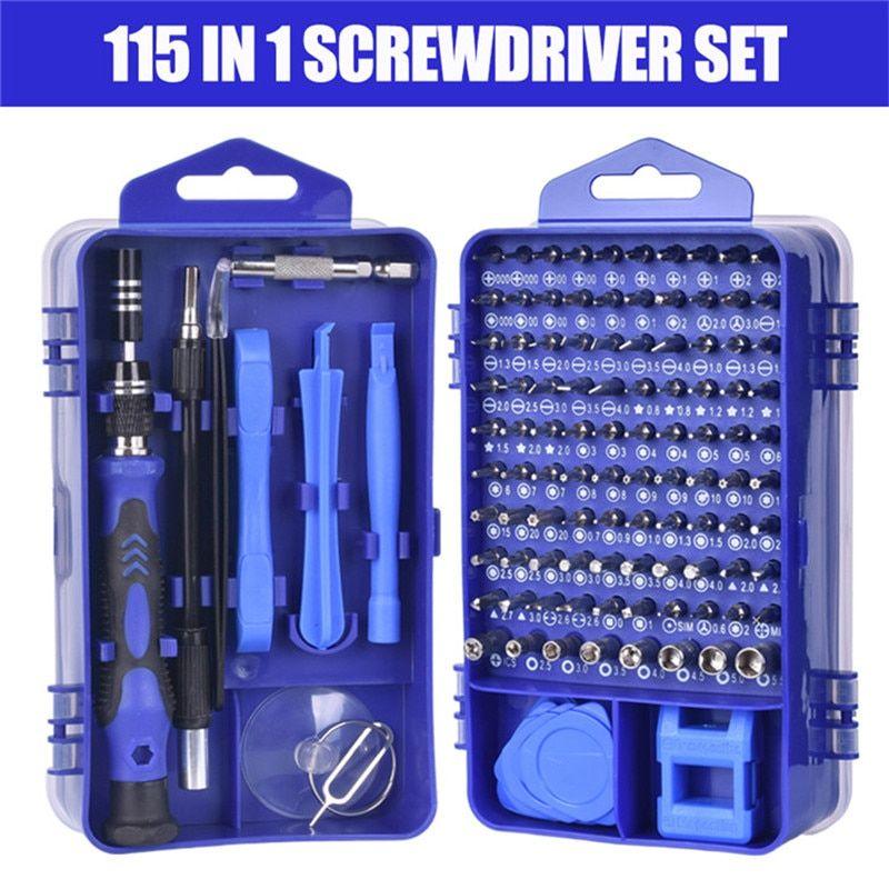 115//25 in 1 Screwdriver Set Mini Precision Screwdriver Multi Computer PC Mobile