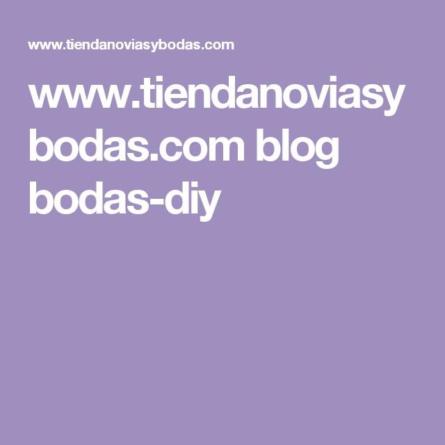 www.tiendanoviasybodas.com blog bodas-diy