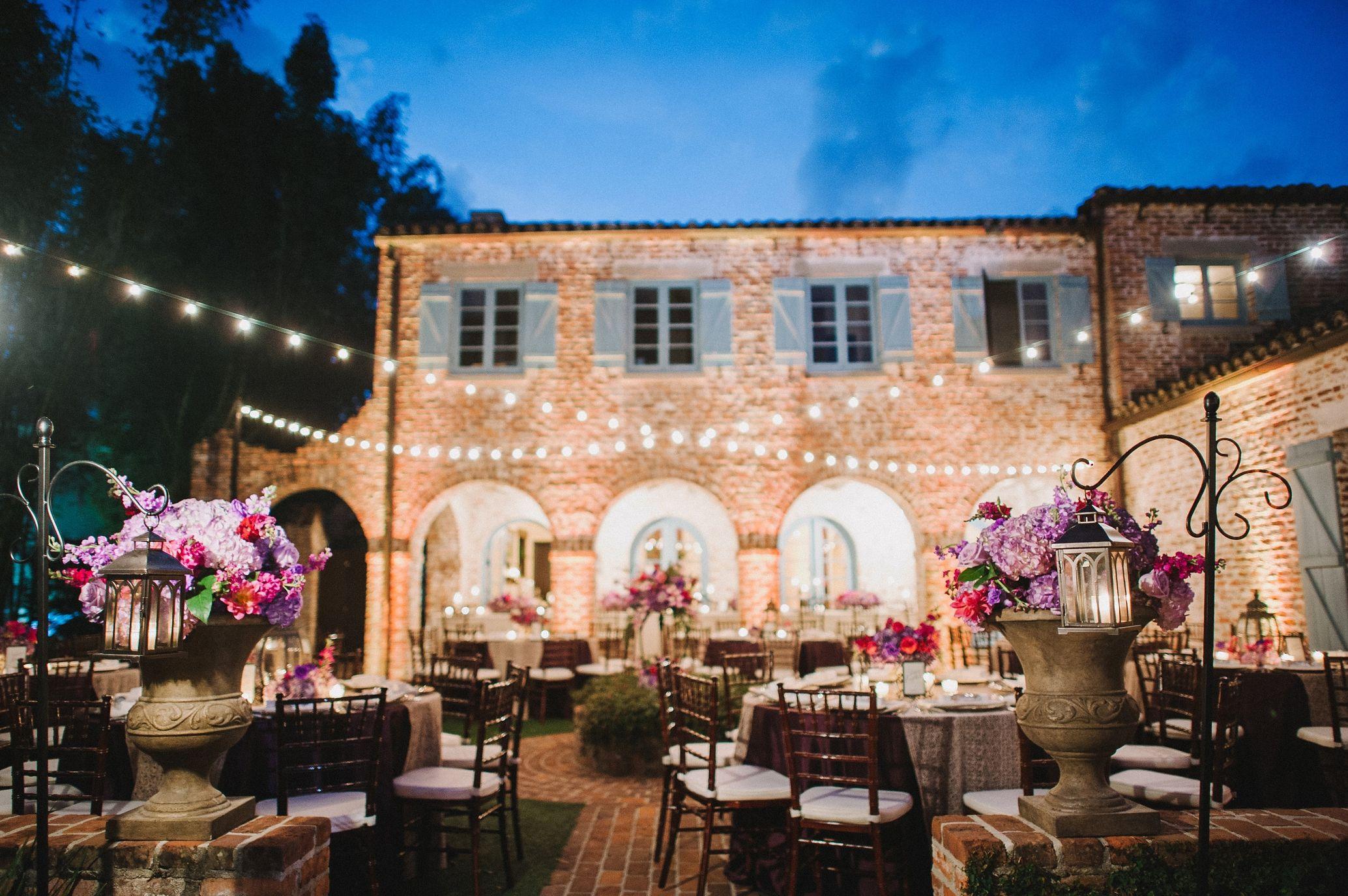 Cassandra Zackari Married Casa Feliz Florida Wedding Venues Wedding Reception Places Outdoor Wedding Venues
