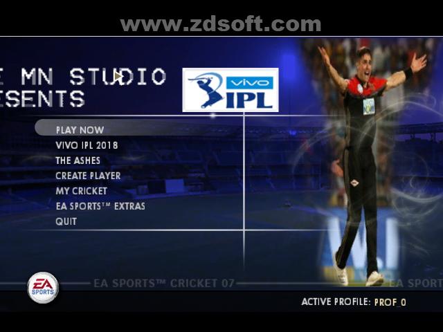 Vivo Ipl 2018 Season 11 Patch For Ea Cricket 07 Ipl Vivo Game Download Free