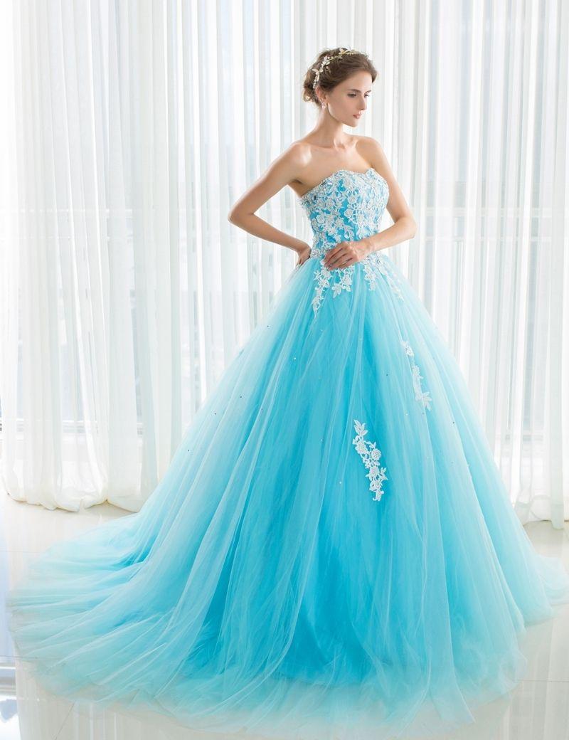 Wedding Dresses In Sky Blue | Wedding Dress | Pinterest | Wedding ...