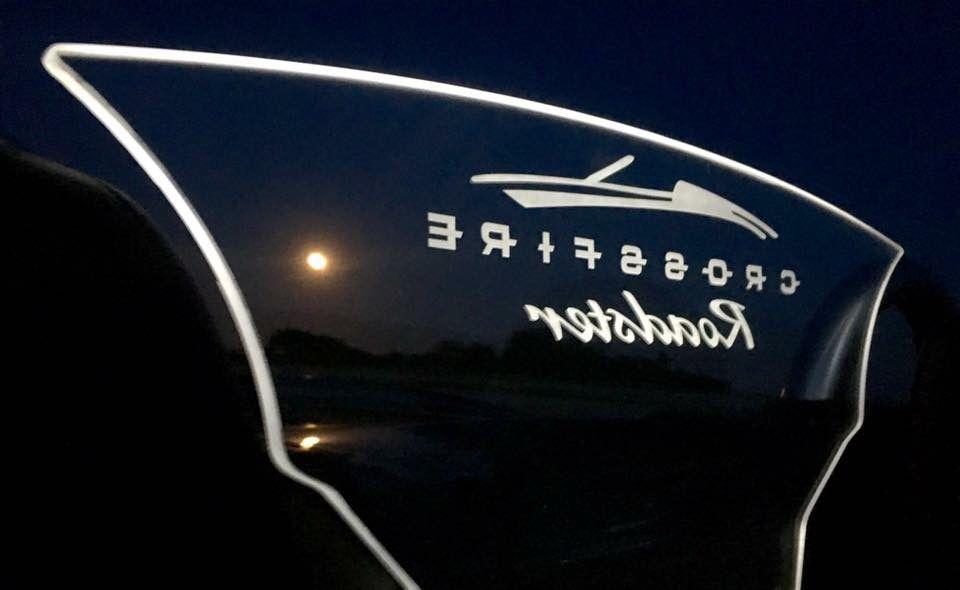 Custom Windscreen For A Chrysler Crossfire Convertible Chrysler