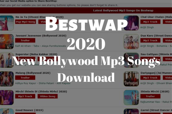 Bestwap Download New Bollywood Mp3 Songs in 2020   Mp3 song, Songs, Dj  remix songs