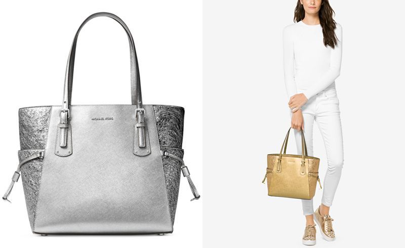b2a8e4c9cbaf MICHAEL Michael Kors Voyager East West Signature Tote - Handbags    Accessories - Macy s