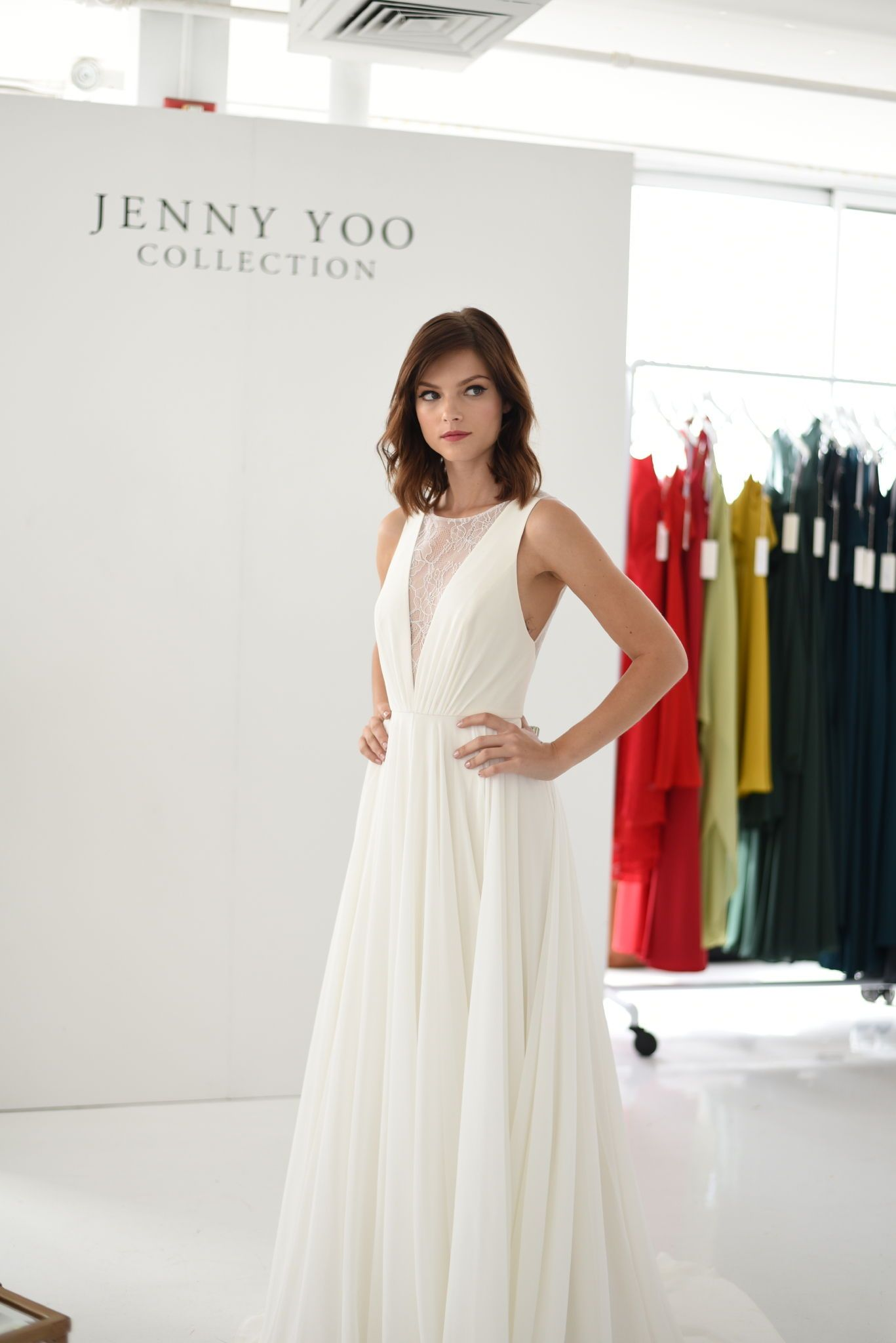 The Fallon gown, part of our \'Jenny by Jenny Yoo\' Bridal Collection ...