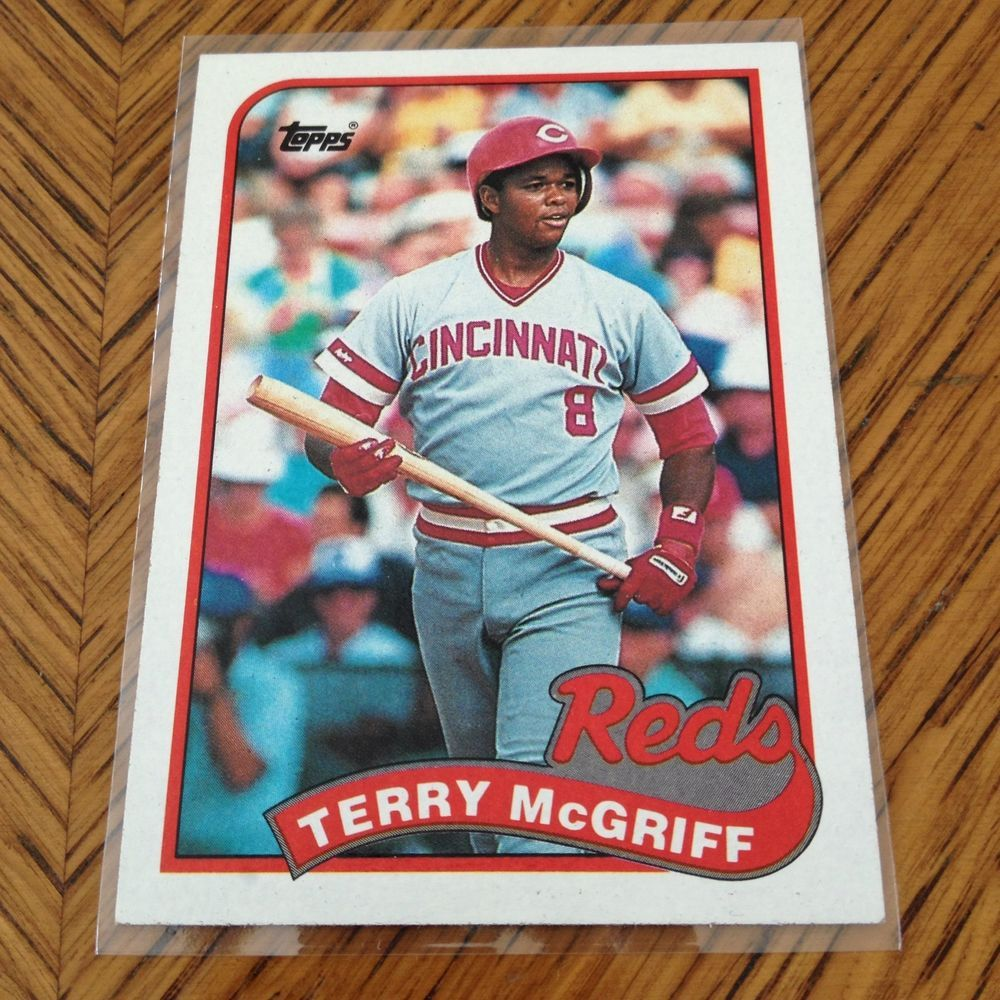 Topps Baseball Card 1989 Cincinnati Reds Terry Mcgriff 151 From