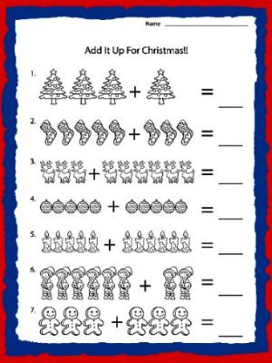 Kindergarten Math Worksheets Kindergarten Math Addition Worksheet