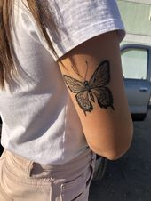 Photo of ❤️ – – #butterflytattoo #firsttattooideas #girltattoo #girltattooideas ❤ ….