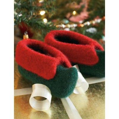 Kids Elf Slippers Knitting Pinterest Knit Patterns Patterns