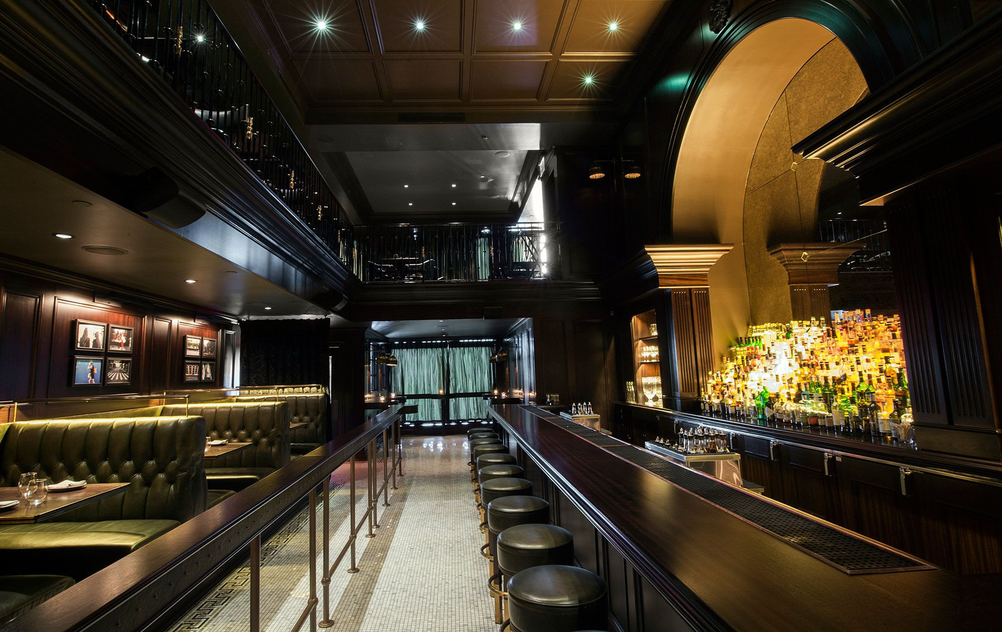 Living Room Bar Nyc How New York Citys Hottest Bar Was Made Nomad Hotel Bar And