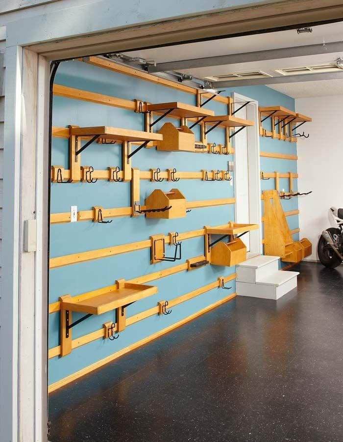 Customizable garage storage cr ation pinterest for Rangement modulable garage