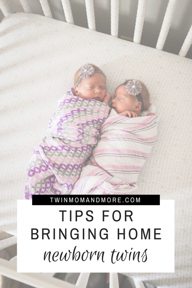 Bringing home twin can be daunting here are 5 tips to help you survive life