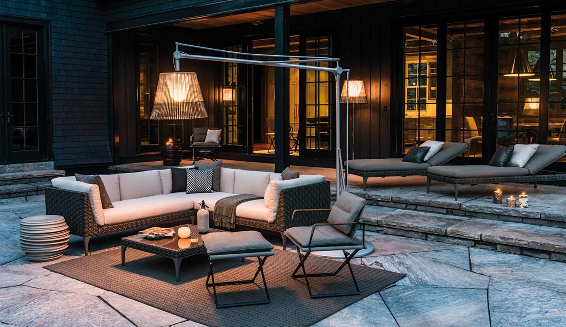 Dedon mu sofa coffee table beach loungers seax for Dedon muebles