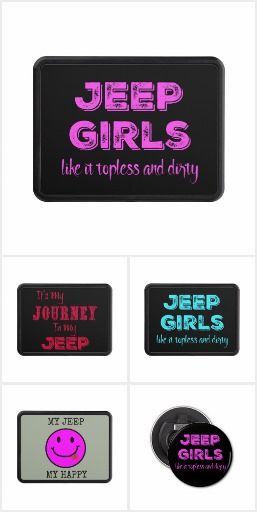Jeeps are for Girls- Click to order and for prices #jeeplovers #jeep #itsmyjourney