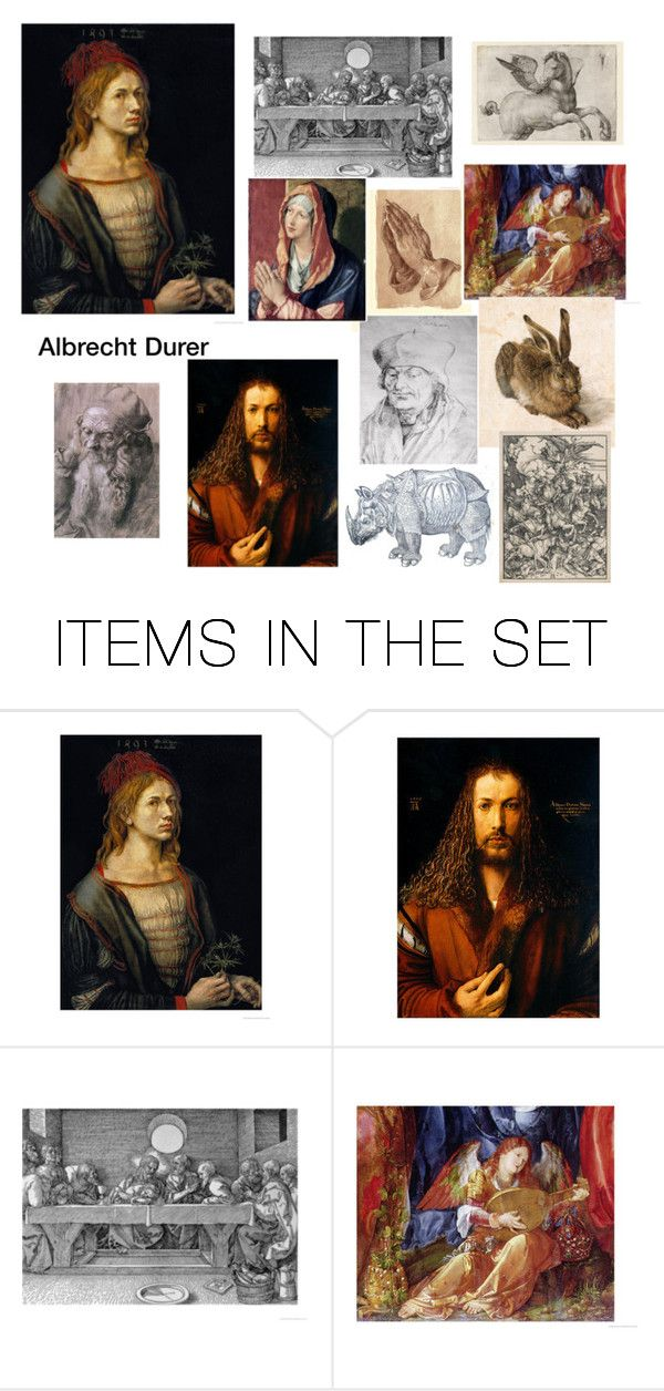 """Durer Artwork and Prints"" by scolab ❤ liked on Polyvore featuring art"