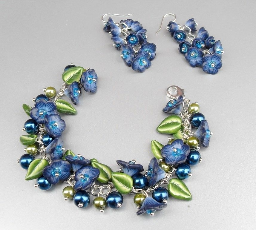 Zuleykha's polymer clay: New bracelets