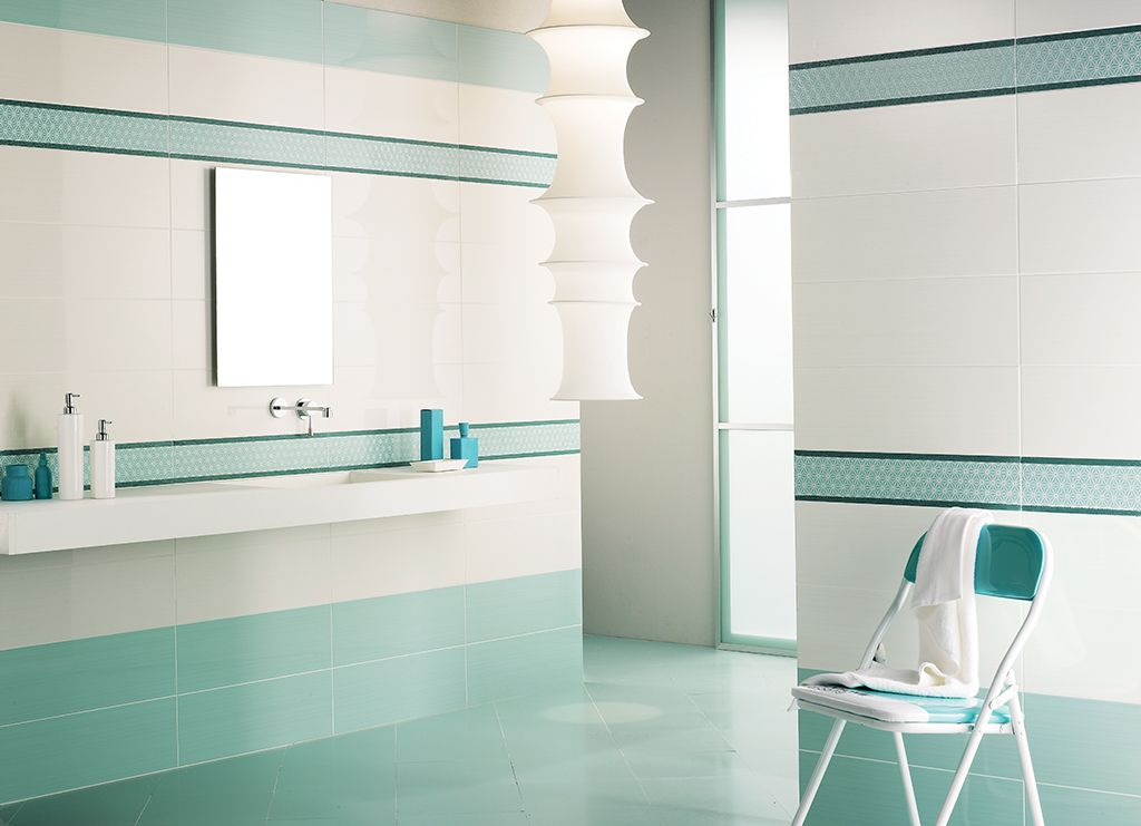 Bagni Moderni Verde Acqua : Piastrelle #bagno #ceramica fioranese bcbeautycolors acquamarina