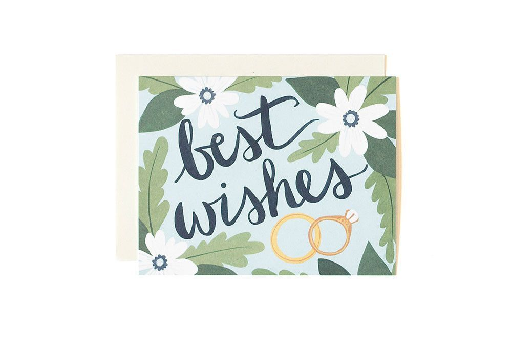 Best Wishes Wedding Wedding Congratulations Card Greeting Card Sentiments Best Wishes Card