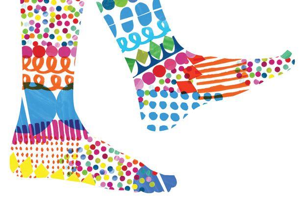 Jenny Bowers & her fancy footwork. Very @katespade (if she were in heels).
