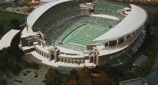 1990s Construction Concepts Nfl Stadiums Sports Stadium Los Angeles