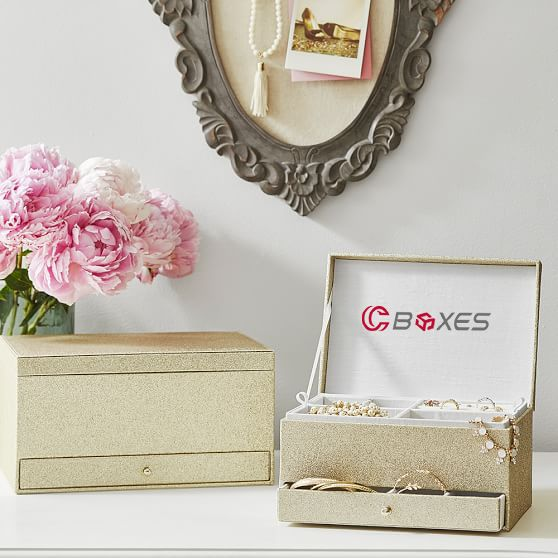 Jewelry boxes come in a variety of sizes and styles They play a
