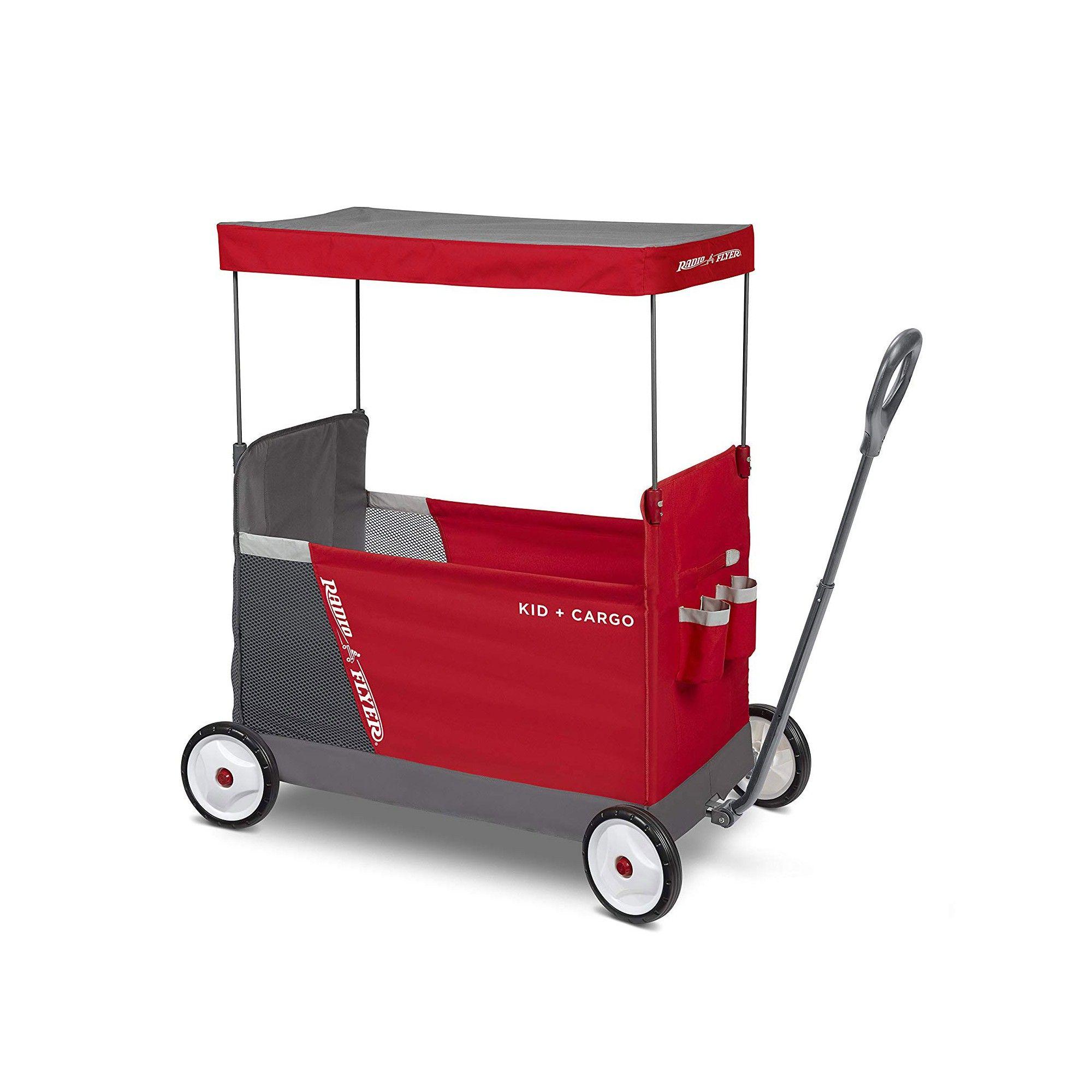 Radio Flyer Kid & Cargo Folding Wagon with 2 Versatile
