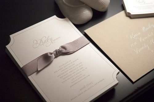 A Modern Sugar Paper Baby Shower / Design: Sugar Paper