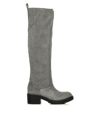 3e8bd5b4180 Dream grey suede knee-high boots Sale - L37 Sale | Clothes ...
