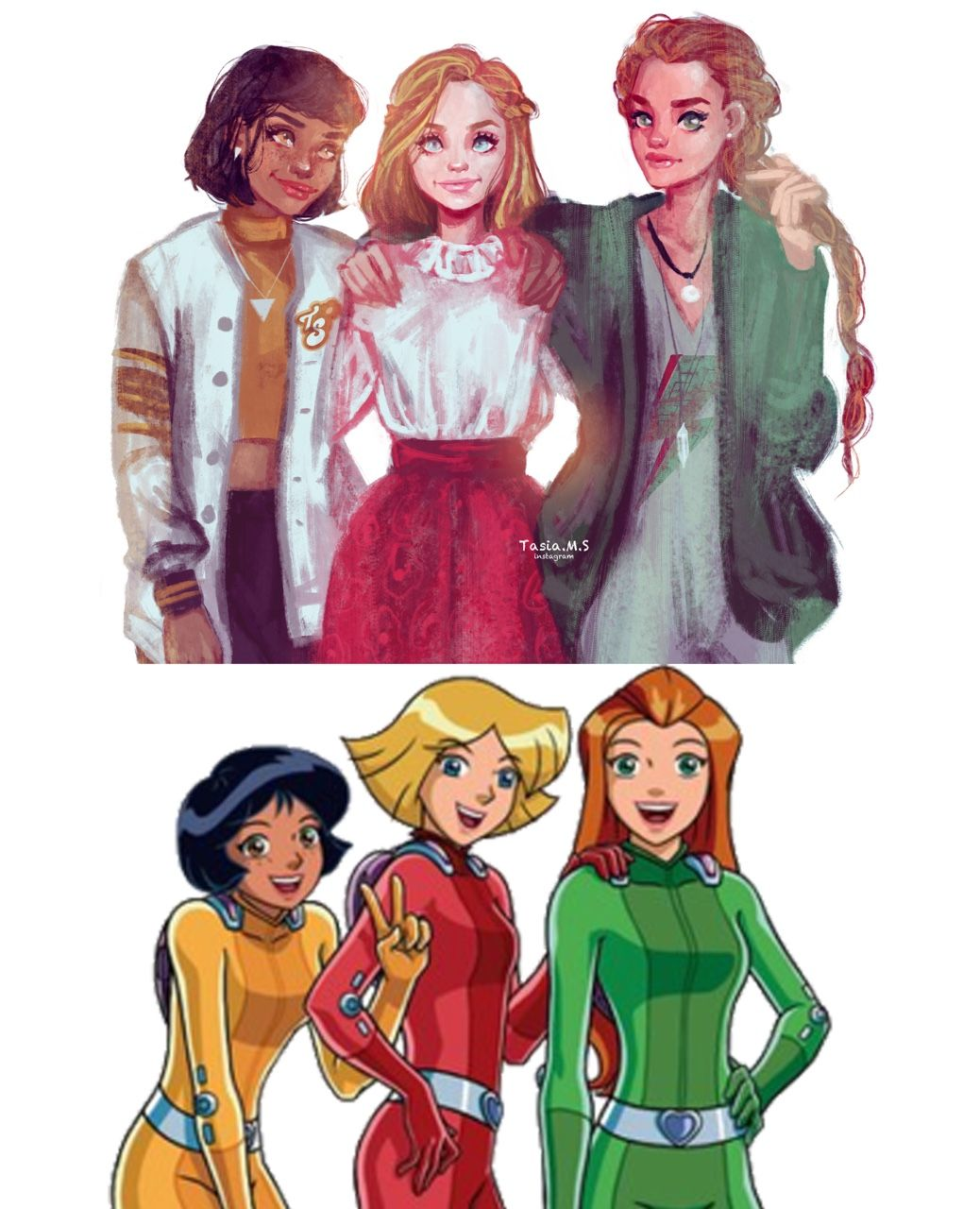 Personnages Totally Spies
