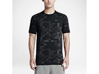 meilleures baskets c60f7 ffe65 Nike Dri-FIT Knit Contrast – Maillot de running pour Homme ...