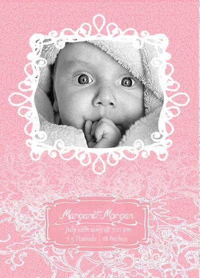 Free Birth Announcement Template Birth Announcement Template Baby Announcement Cards Diy Birth Announcement
