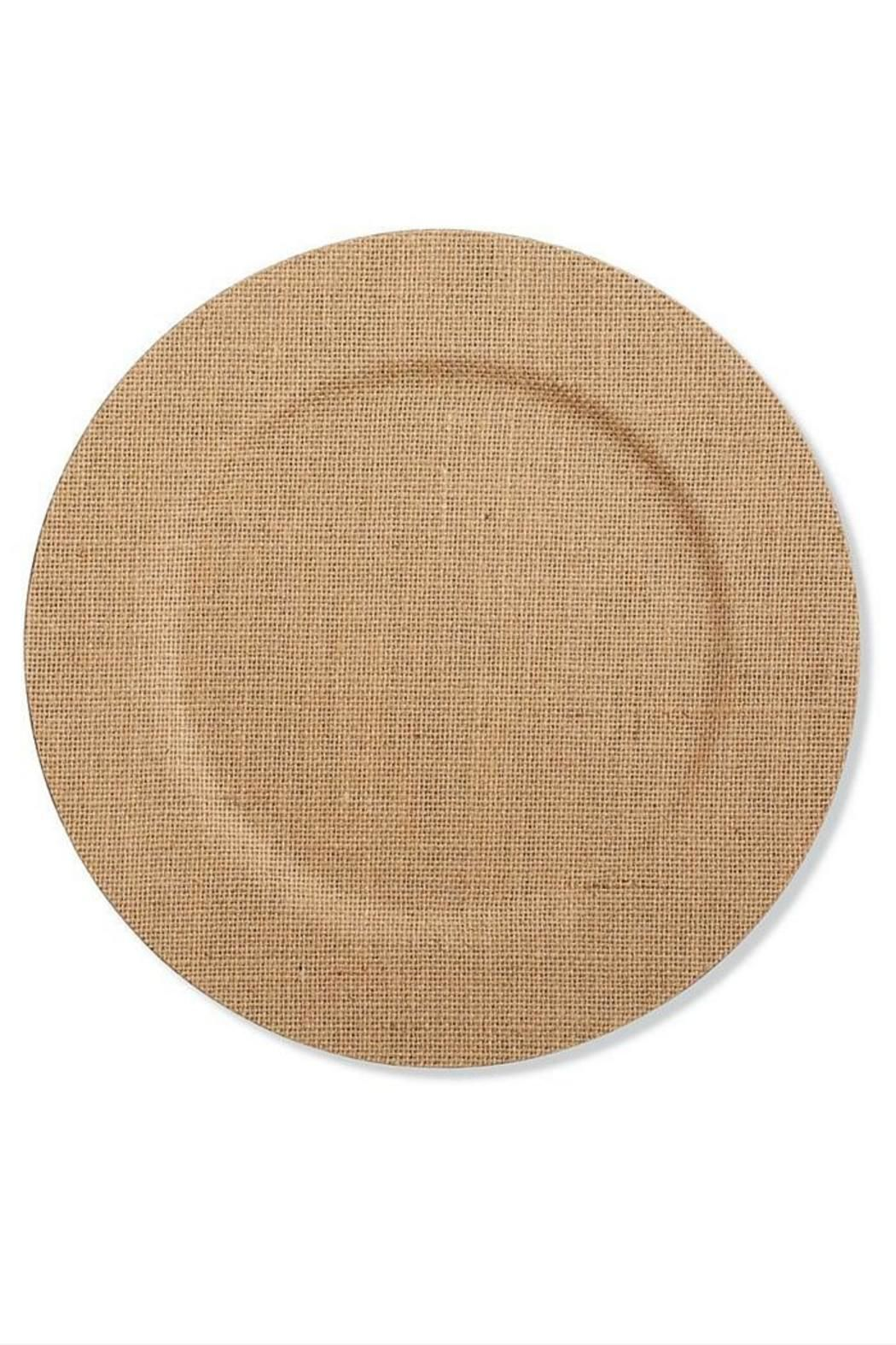 Mud Pie Burlap Charger Plate | Virginia, Home and The o\'jays