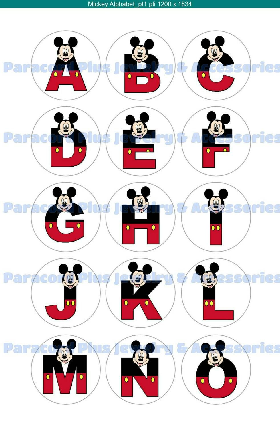 Mickey mouse bottle cap alphabet collage sheet capital letters mickey mouse bottle cap alphabet collage sheet capital letters digital file instant download biocorpaavc