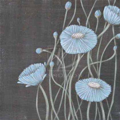 "MAJA    Springing Blossoms I  MPP103  18"" x 18"" image size  45.72cm x 45.72cm  19.75"" x 19.75"" paper size  50.165cm x 50.165cm"