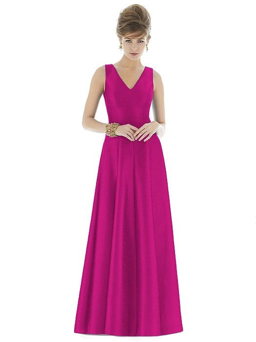 Alfred Sung Style D665 http://www.dessy.com/dresses/bridesmaid/d665 ...