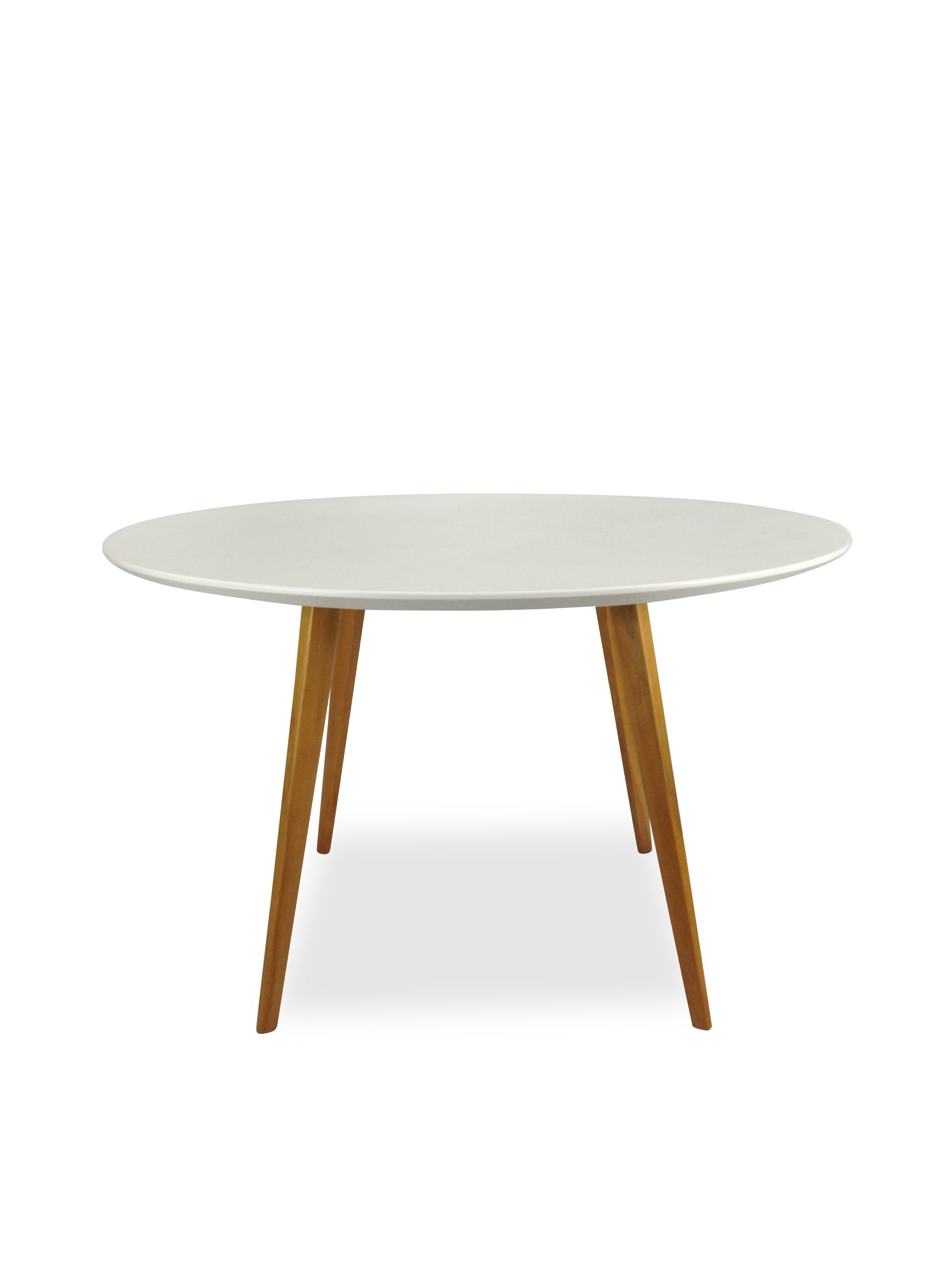 Halo Round Dining Table Mario Cellini Replica White Walnut Legs Round Dining Table Round Dining Dining Table [ 3264 x 2448 Pixel ]