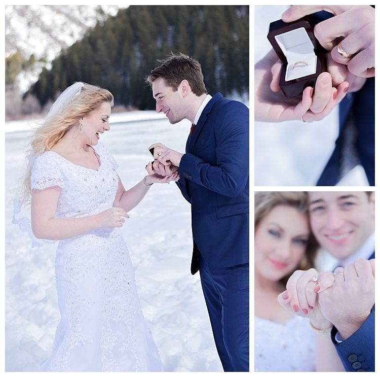 Snowy proposal in Utah on LDS Bride Blog   Engagement Inspiration ...