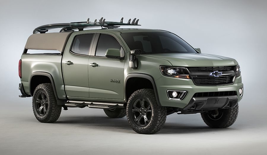 Hurley And Chevy Just Designed A Special Edition Truck For Surfers