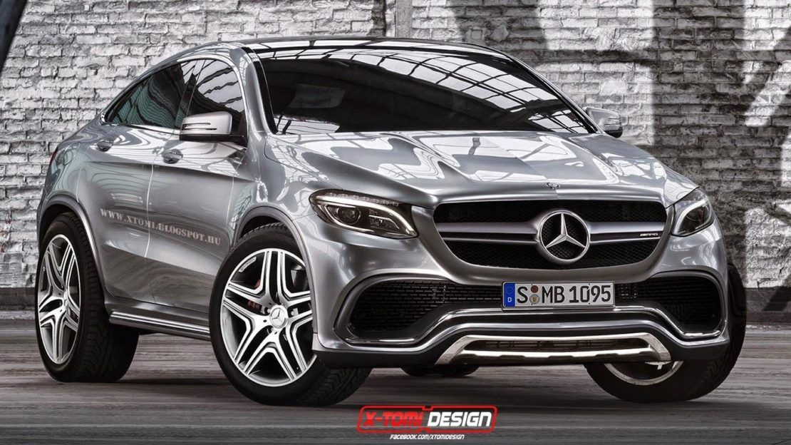 Mercedes Benz Mlc Rendered From Concept Coupe Gtspirit Throughout 2019 Mercedes Benz Mlc New Release Benz Mercedes Benz Glc Mercedes Benz