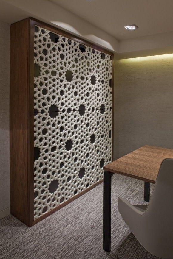 Modern Arabic Wall Decoration Oriental Interior Lounge
