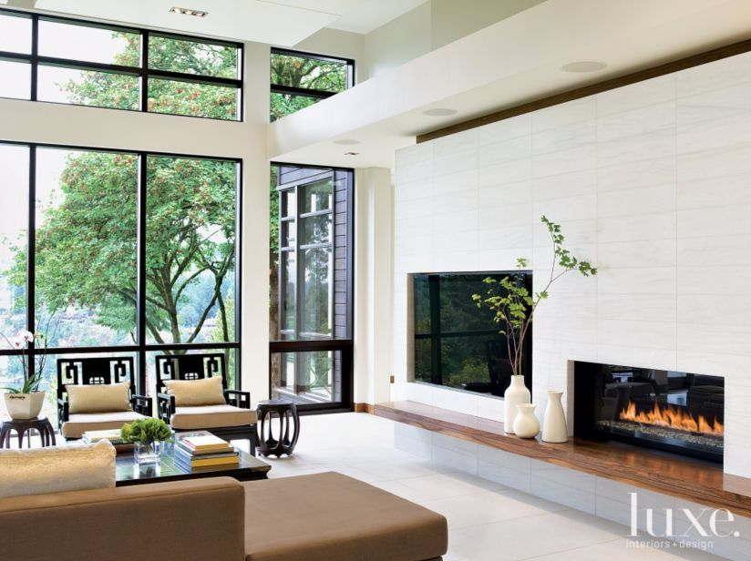 24 of our Favorite Living Room Fireplaces LuxeSource Luxe
