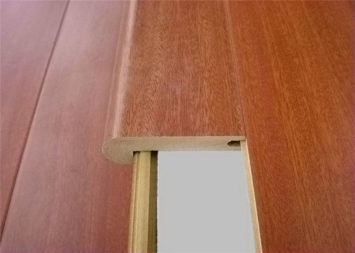 China Mdf Molding Stair Nose Laminate Anti Slip Stair Nosing Accessories  For Laminate Flooring Supplier