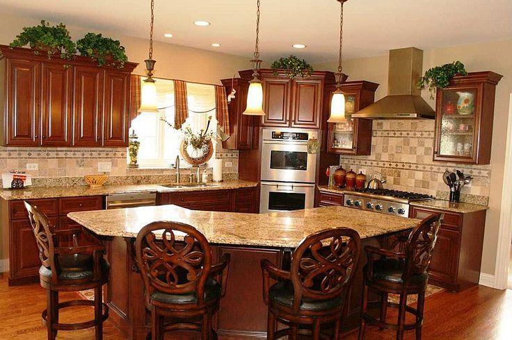 Fabulous Kitchens Curved Kitchen Island Kitchen Island With Bench Seating Granite Kitchen Island
