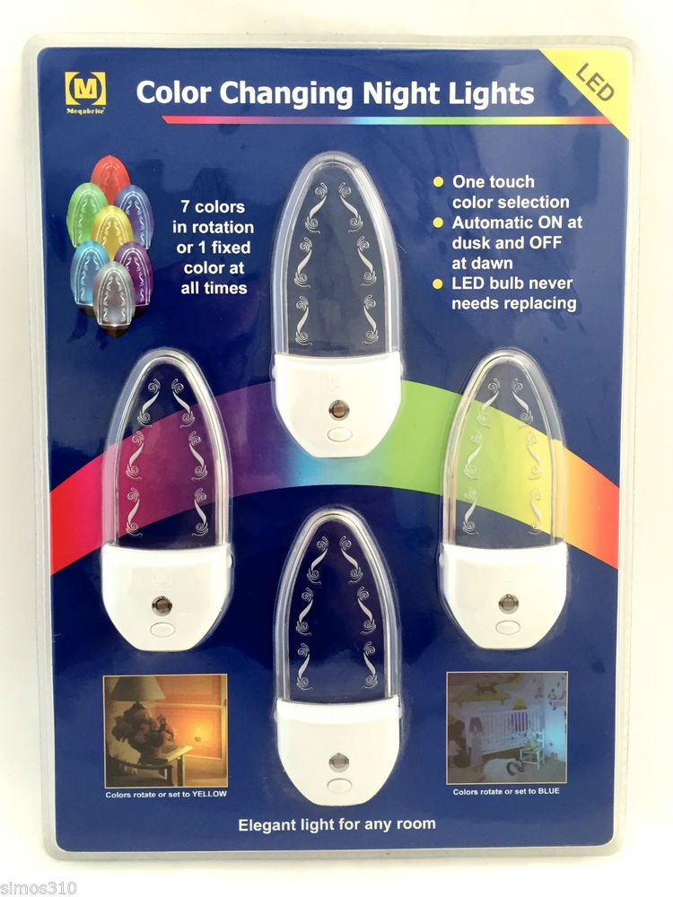 New Led 7 Color Changing Night Lights
