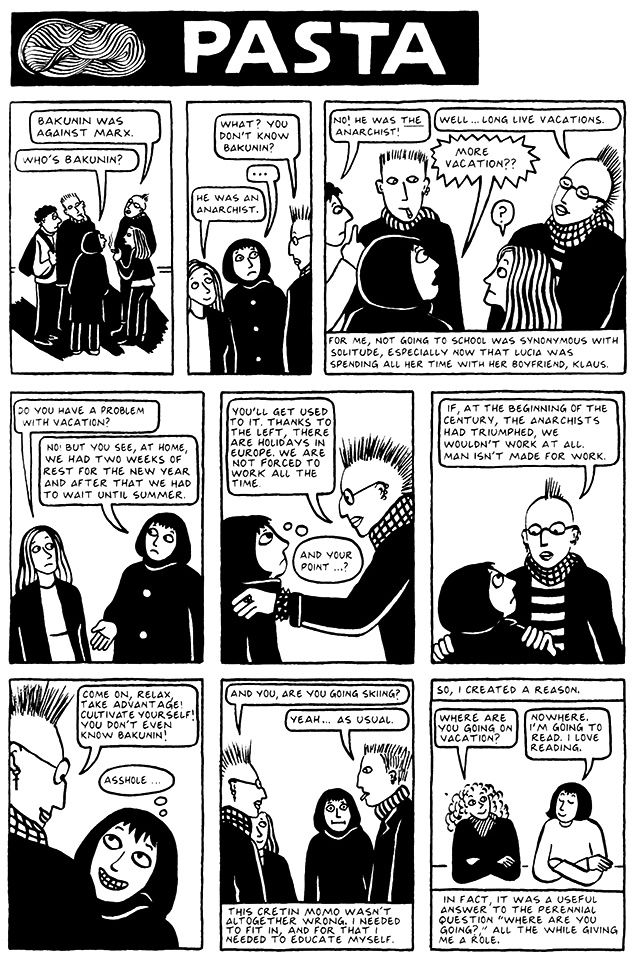 Chapter 3 Pasta From Persepolis 2 The Story Of A Return In 2020 Graphic Novel Reading Novels